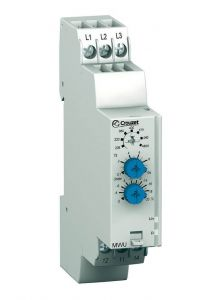 84873023 Monitoring Relay, MWU 3-Phase, DIN Rail, SPDT, 5A,