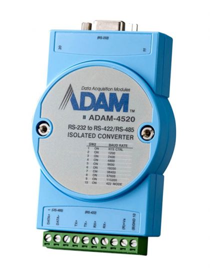 ADAM-4520 RS-232 to RS-422//485 Isolated converter